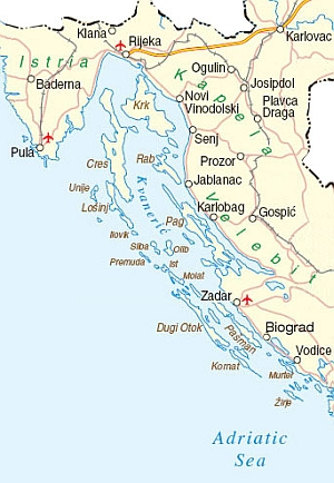Voyage En Croatie Istrie Iles De Cres KrK Pag Zadar Plitvice